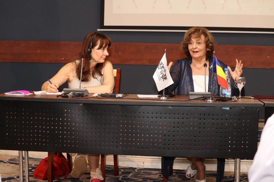 Поетско кафе со Ана Бландијана, портрети на Богомил Ѓузел и Моника Херцег на СВП