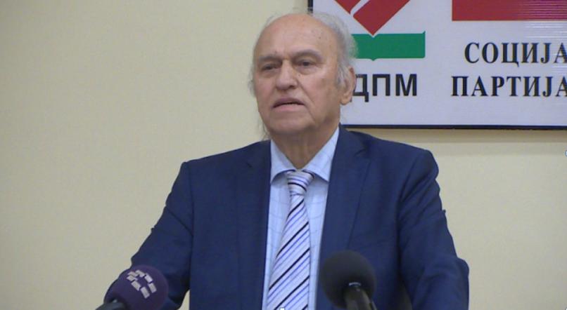 Почина Бранко Јаневски, претседател на СДПМ