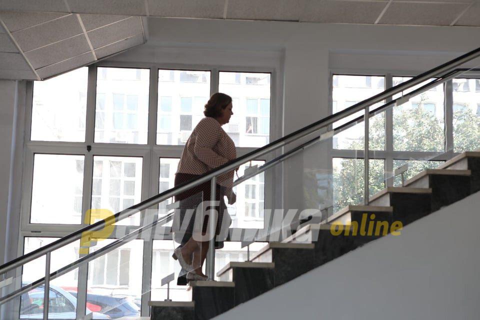 Катица Јанева на распит кај Русковска во вторник
