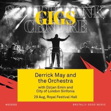 """Џијан Емин и Дерик Меј на 29 август во """"Ројал Фестивал Хол"""" во Лондон"""