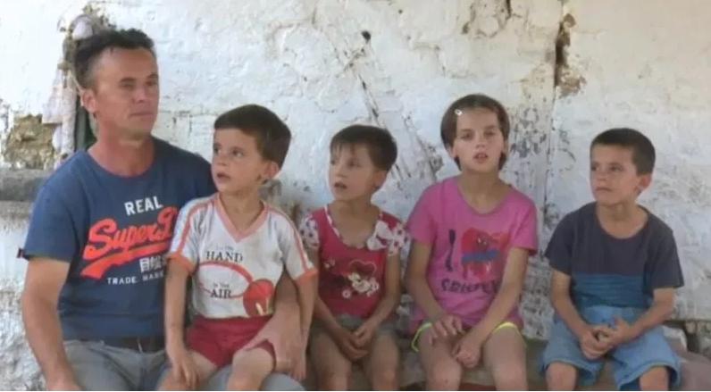 Осум деца во Црешнево се осудени на мизерија затоа што татко им е вработен