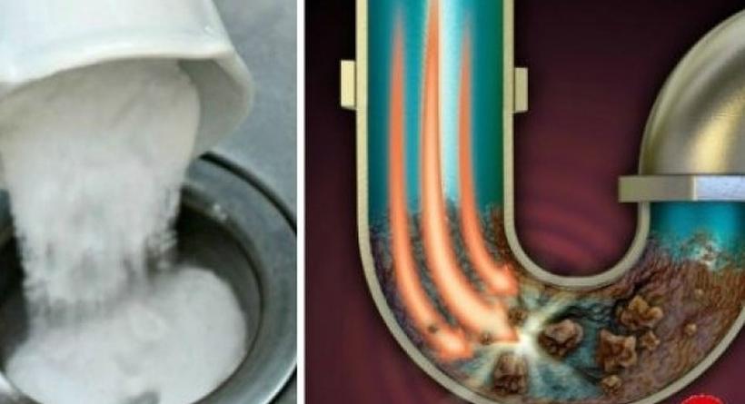Ќе го одзатне секој затнат одвод – мора да го пробате овој генијален трик