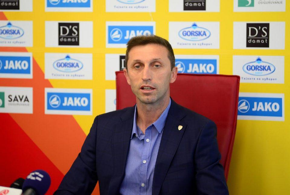 Милевски од денеска селектор на македонската репрезентација