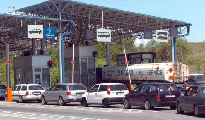 """Детали за сообраќајката кај граничниот премин """"Богородица""""- 6 возила учествувале во несреќата"""