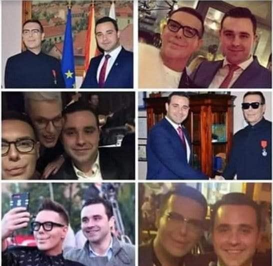 Костадинов прашува, Костадинов да одговори: Со кого се среќавал од осомничените за Рекет?
