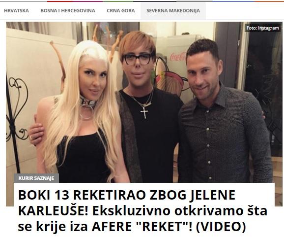 Курир.рс: Боки 13 го рекетирал Камчев, ѝ враќал пари на Карлеуша