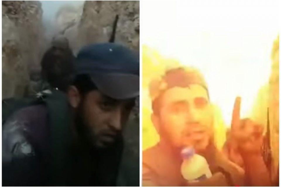Џихадисти го снимиле моментот кога биле разнесен од Сирислата арапска војска