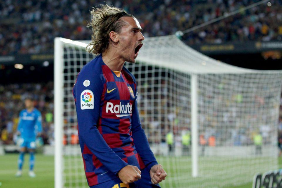 Maлер за Барселона, Гризман се повреди