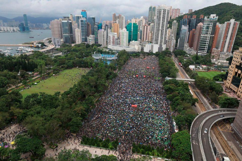 Нов протест во Хонг Конг