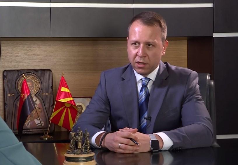 """Јанушев: ВМРО-ДПМНЕ ги немаше снимките за """"Рекет"""""""