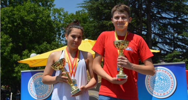 Мирчевски и Костовска триумфираа на Илинденскиот пливачки маратон