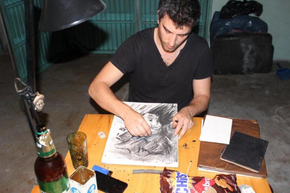 """Уметничка резиденција """"Допир и простор"""" со уметници од Јужна Америка и од Скопје"""