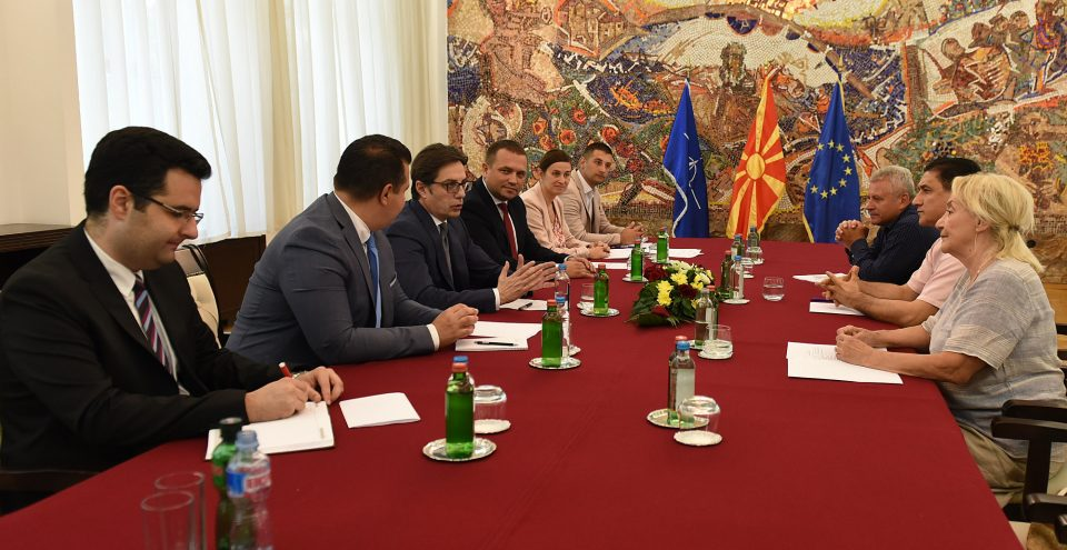 Дарко Панчев во Комисијата за одликувања и признанија на претседателот