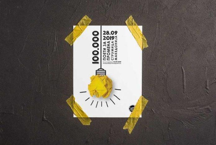 """Фестивалот """"100 Илјади поети за промена"""" распиша конкурс за поезија и плакат"""