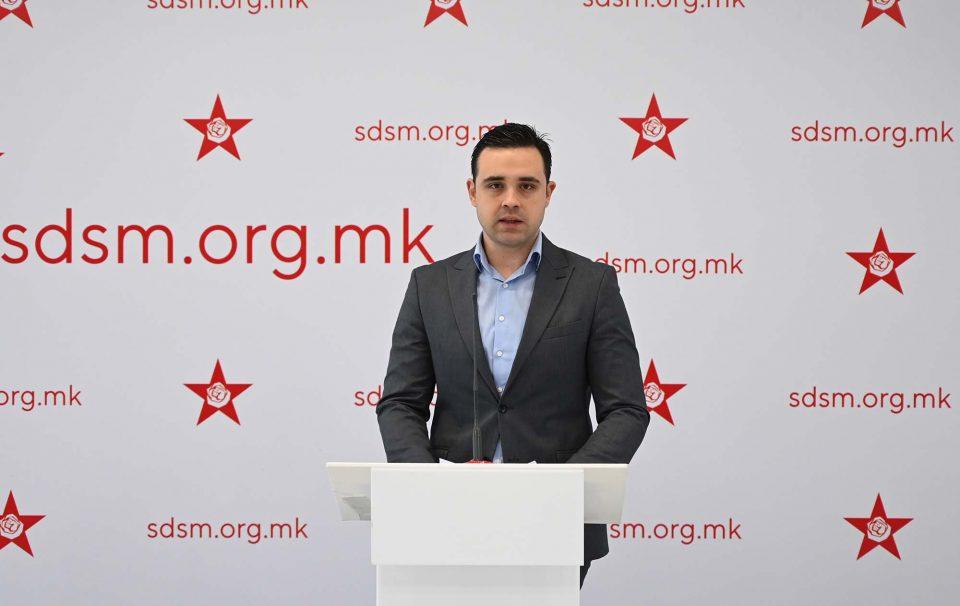 Николоски:СДСМ падна толку ниско што клеветат меѓународни организации и врвни европски политичари за да ме оцрнат