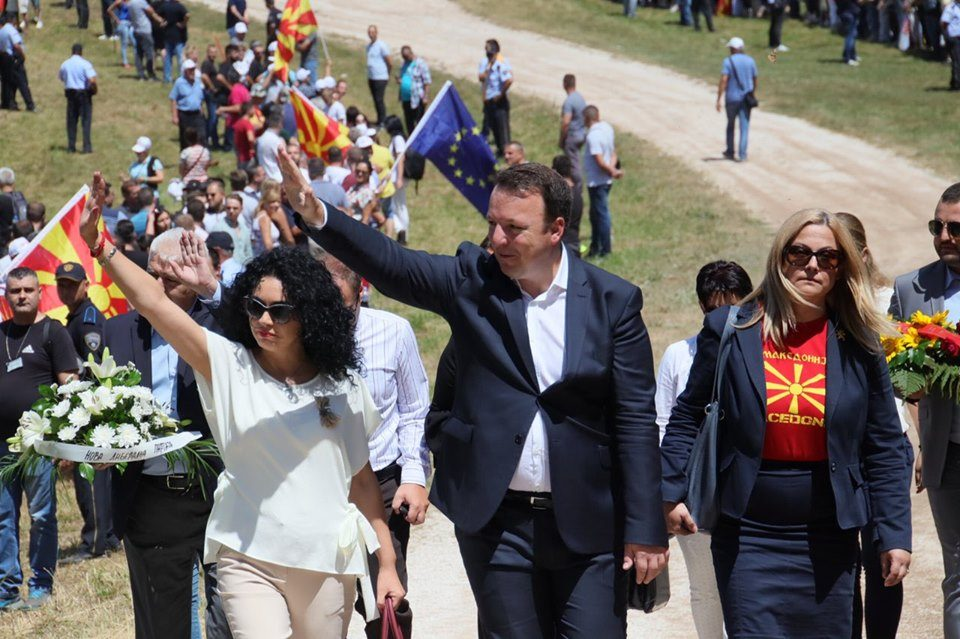 """Од Влада тврдат дека ВМРО ДПМНЕ биле поканети на """"Македониум"""", но не дошле"""