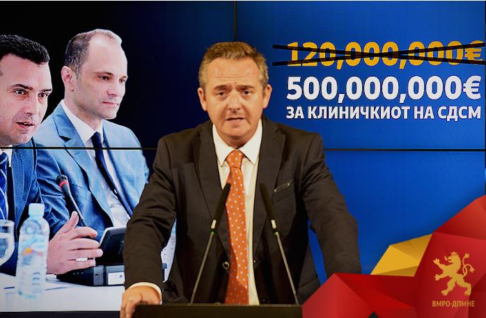 Николов: Не сака Заев Развојна банка на ЕУ да го контролира како троши половина милијарда евра