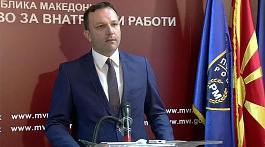 """Спасовски: Синот на сопственикот на """"Пин Петрол"""" работи во МВР, но не работи во мојот кабинет"""