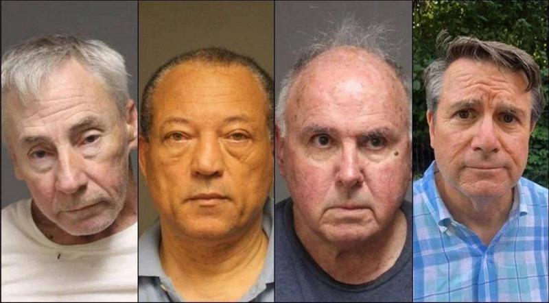 Шест пензионери уапсени за групен секс на јавно место