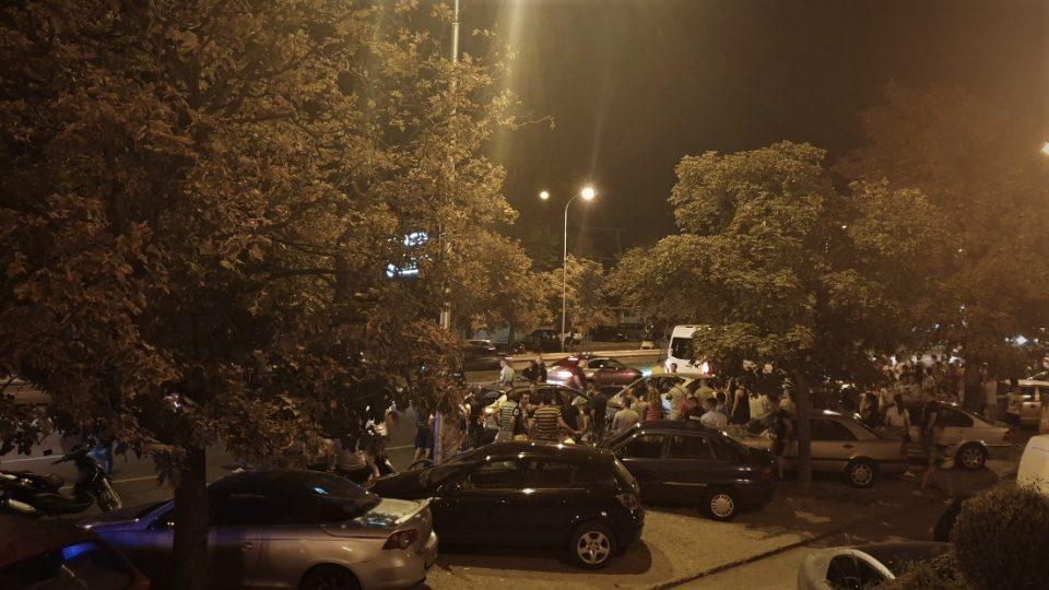 Карамбол кај Порта Влае, се судрија четири возила