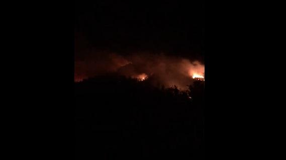 Нов пожар избувна над Усје