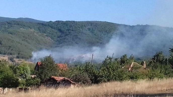 Во тек е акција за гаснење на пожарот во Бигла