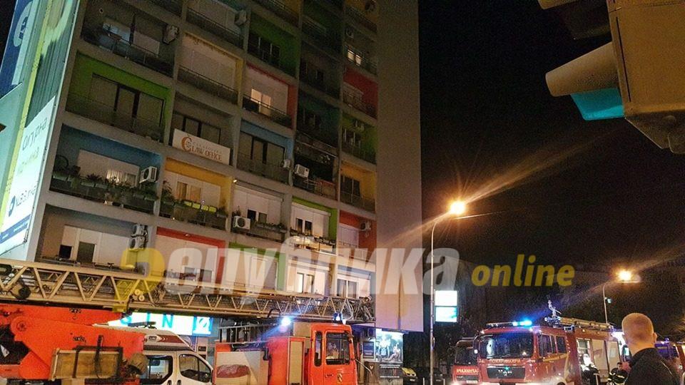 """МВР потврди: Зградата """"папагал"""" се запалила од плинска боца"""