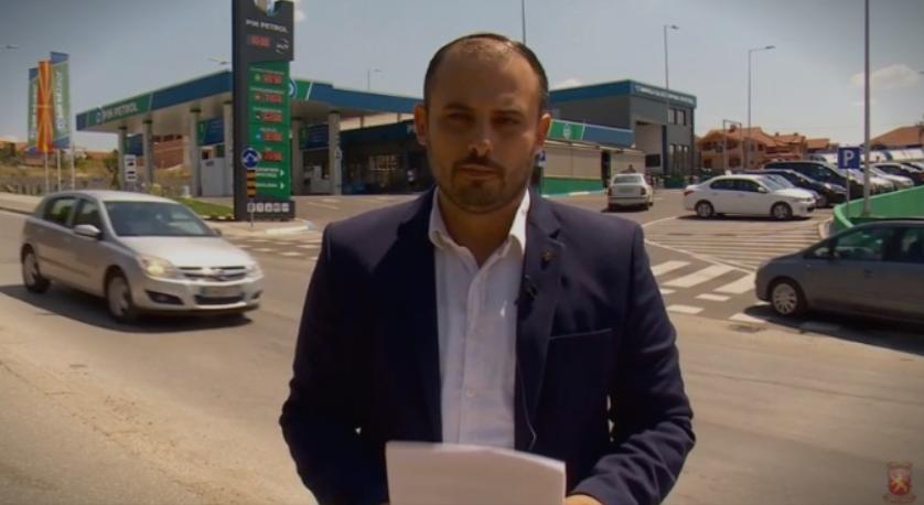 Ѓорѓиевски: Оваа бензиска се води во сопственост на таткото на советникот за односи со јавност на Оливер Спасовски