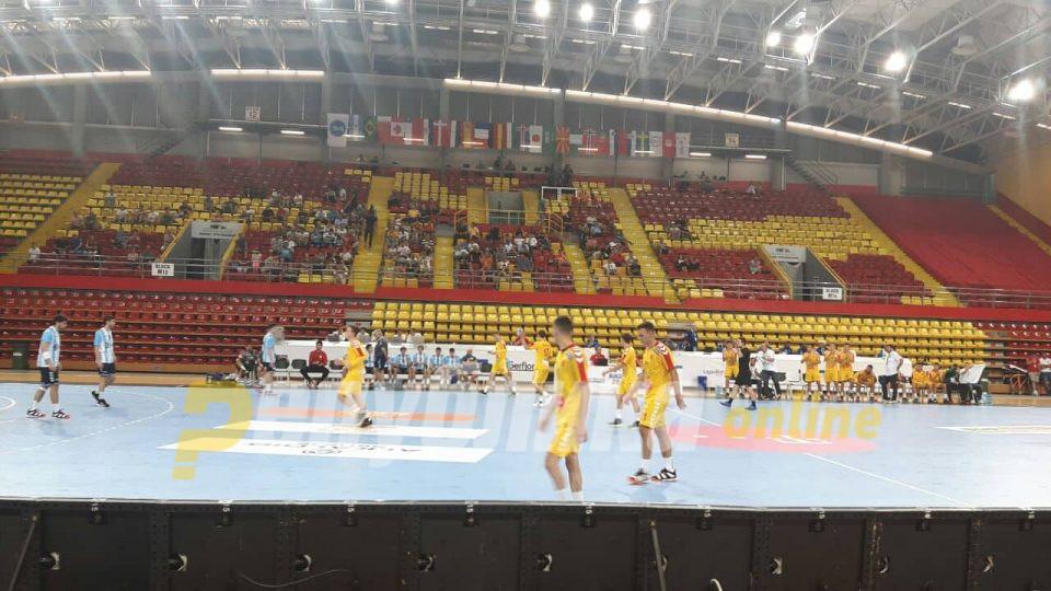 Македонија на плус четири одмора против Аргентина