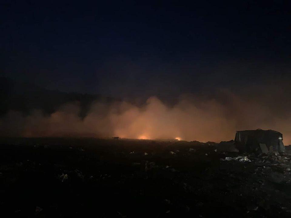 Гори депонијата Русино, Таравари бара помош од државата