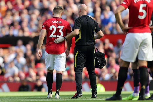 Проблем за Јунајтед: Лук Шо надвор од терените најмалку еден месец