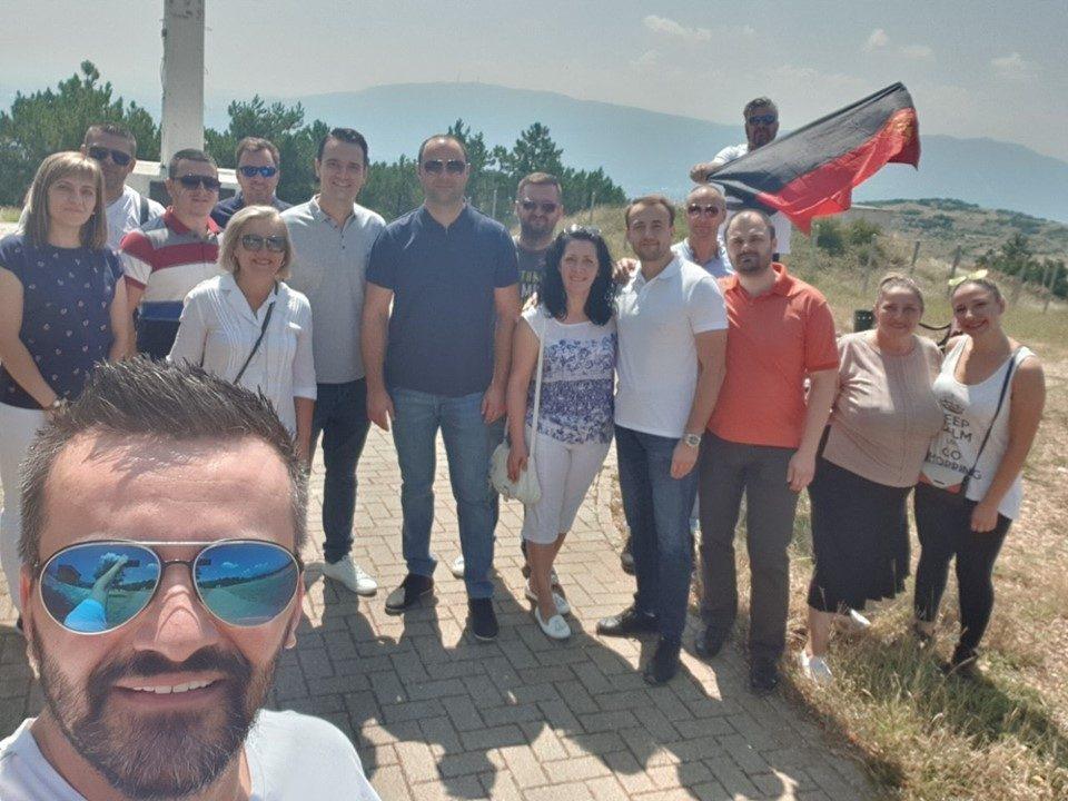 Мисајловски порача: Нека е за многу години, да ни е вечна Македонија!