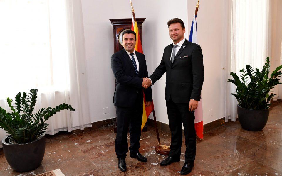 """Чешка гласаше """"за"""" прием на Македонија во НАТО"""