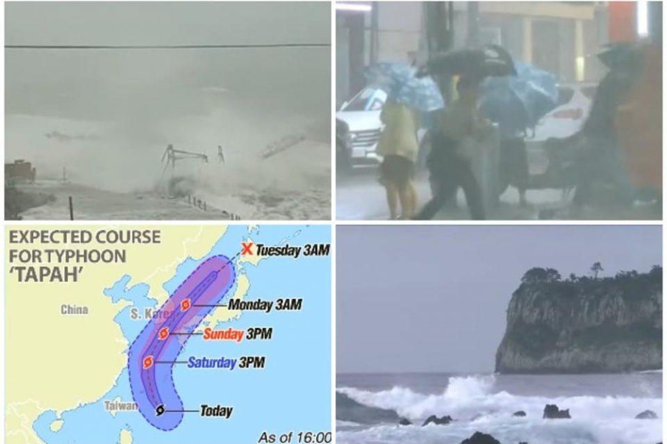 Јапонија во страв чека жесток удар: 412 летови откажани поради мегатајфун