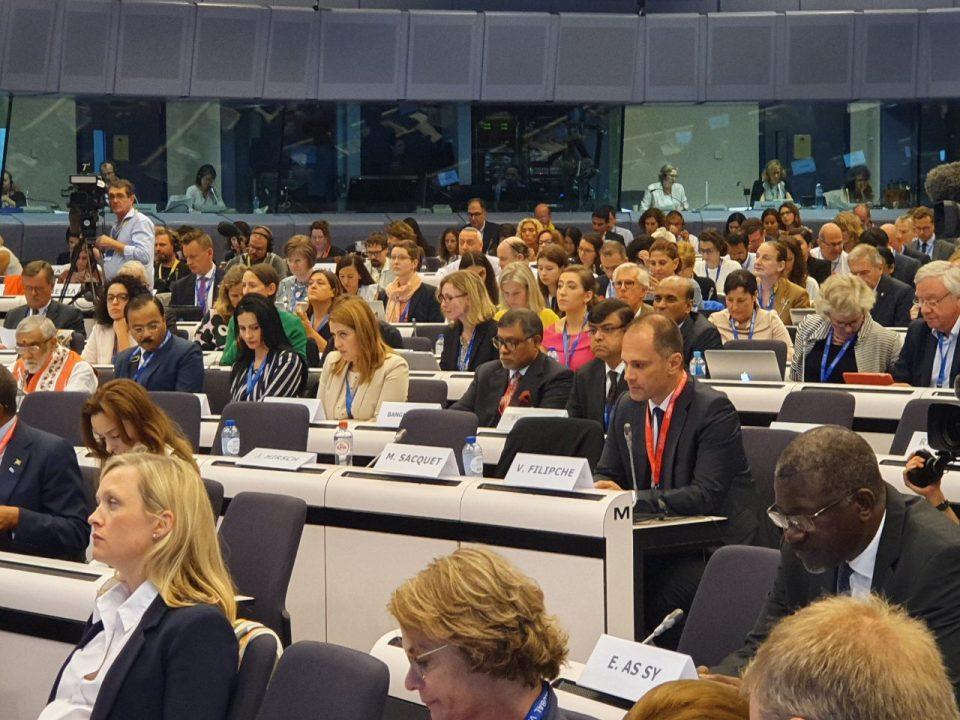 Филипче на Глобален самит во Брисел: Вакцинацијата е најуспешната мерка за јавно здравје во модерното време