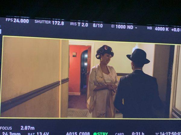 """Во Битола се снима филмот """"Сирена во Париз"""" со музата на Алмодовар Роси Де Палма"""