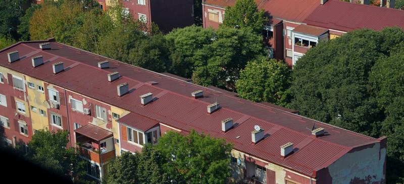 Општина Центар објави повик за субвенции за поправка и санација на кровови и лифтови на станбени згради