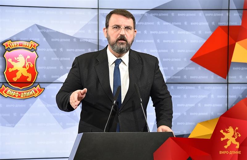Во живо прес конференција на Наум Стоилковски: Шекеринска мора да одговори што договарала со Јанева и Јовановски?