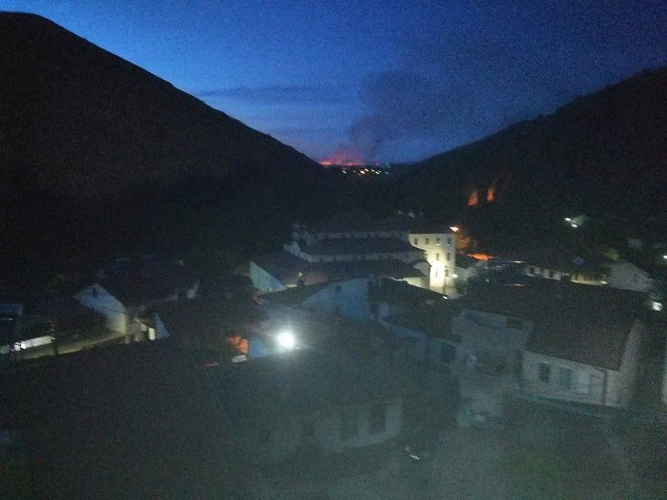 Гори над село Горни Балван во општина Карбинци