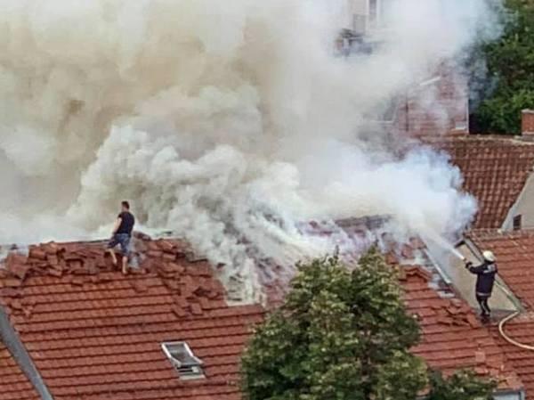 Изгаснат пожарот во Битолската чаршија