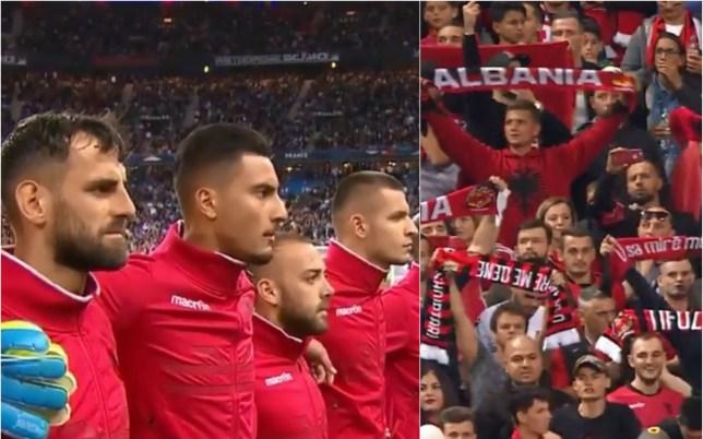 Скандал на фудбалскиот натпревар Франција – Албанија во Париз