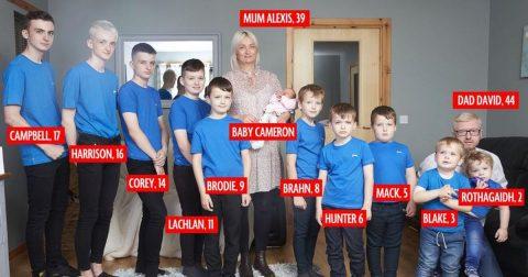 По 10 сина, Алексис роди ќерка!
