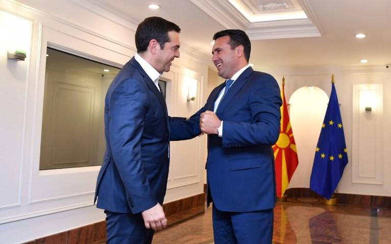 Ципрас во Скопје: Преспанскиот договор ја смени реалноста меѓу двете земји