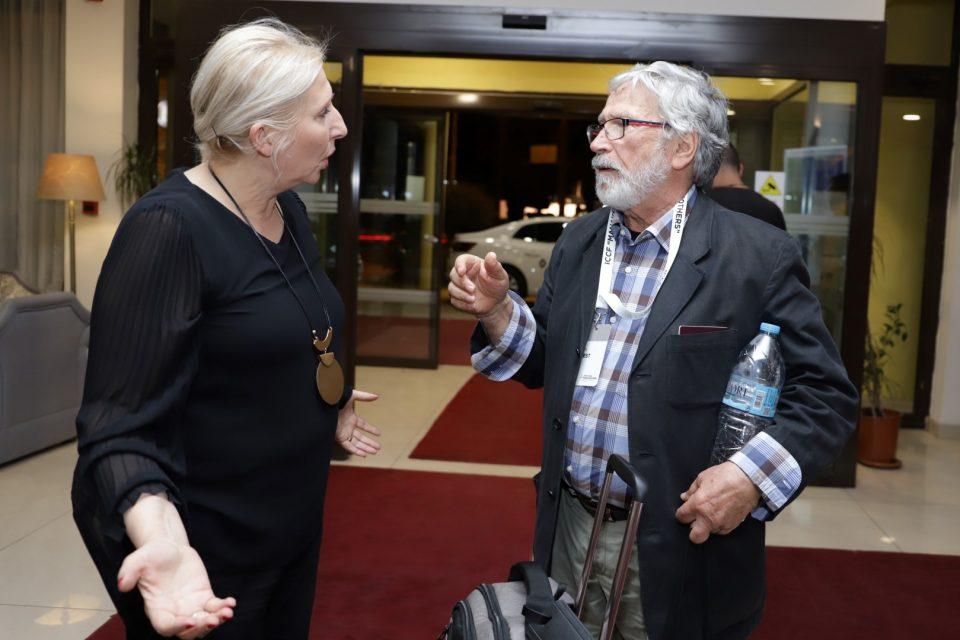 """Лауретатот на """"Златна камера 300"""" за животно дело, Јоргос Арванитис пристигна во Битола"""