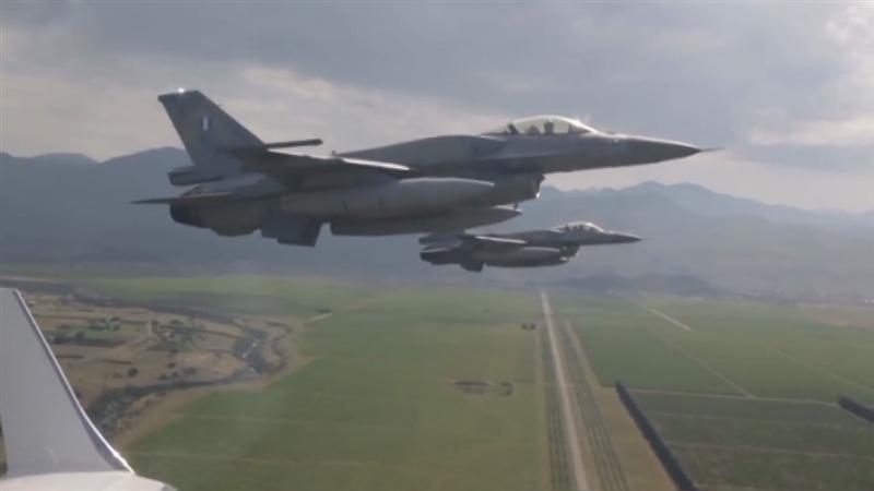 Грчката армија ќе го чува македонскиот воздушен простор