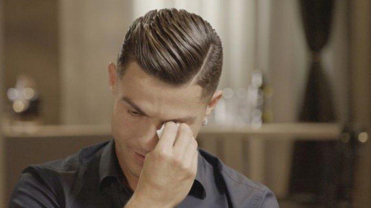 Роналдо се расплака за неговиот покоен татко