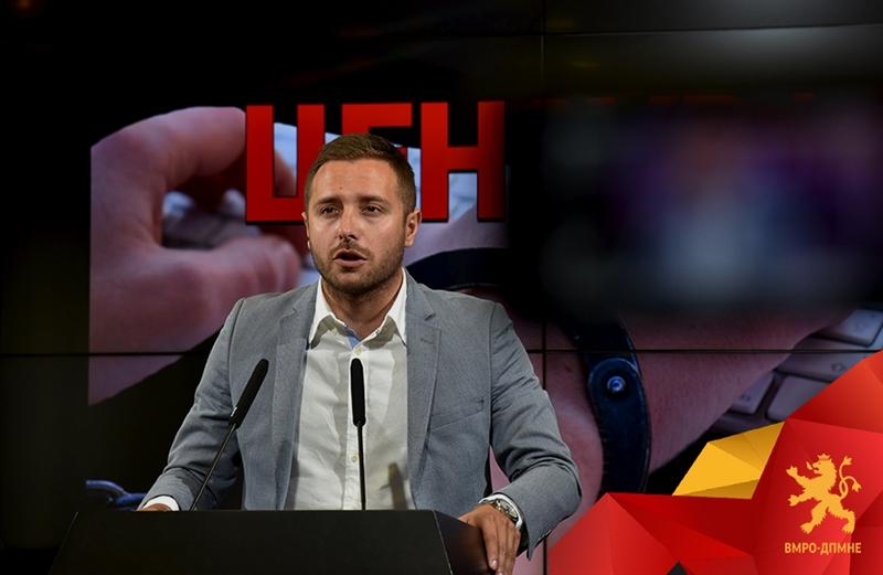 Арсовски: Власта врши кривичен и политички прогон на неистомисленици
