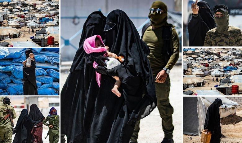 Пред очите на светот се раѓа џихадистички град под шатори, со кој раководат жени