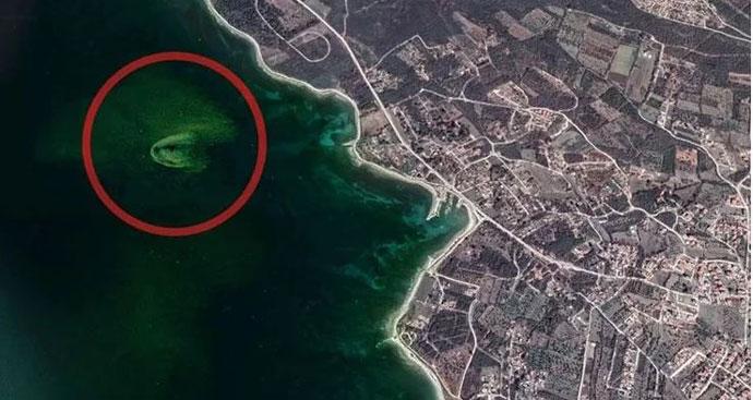 Фекалиите во Јадранскот Море се гледаат од вселената