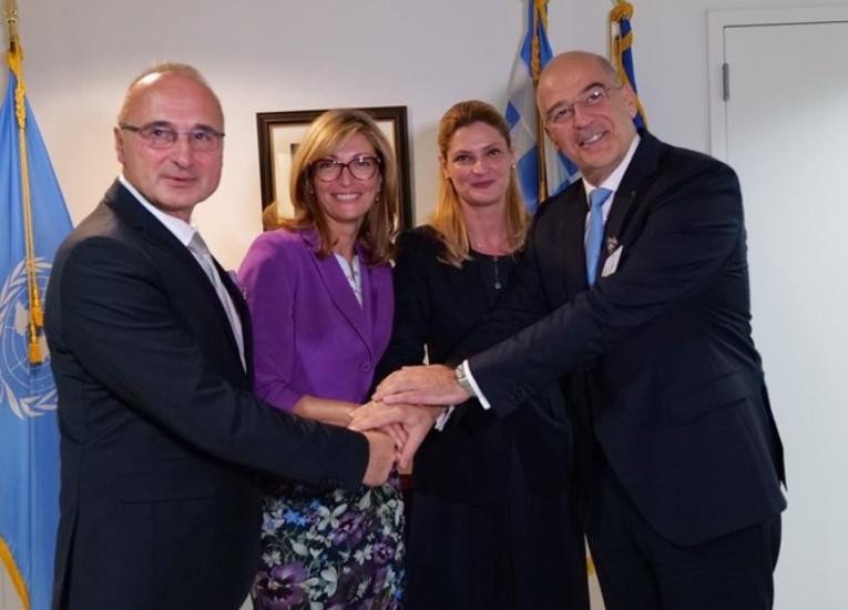 Бугарија, Грција, Романија и Хрватска дадоа поддршка за Македонија и Албанија во Њујорк